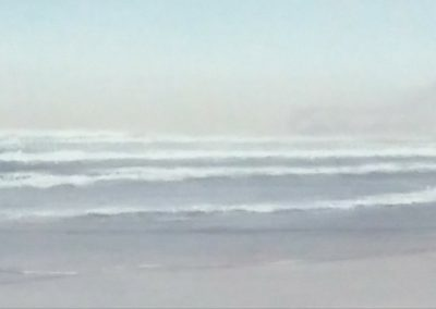 Playa de Gerra-Acuarela-25x150cms.