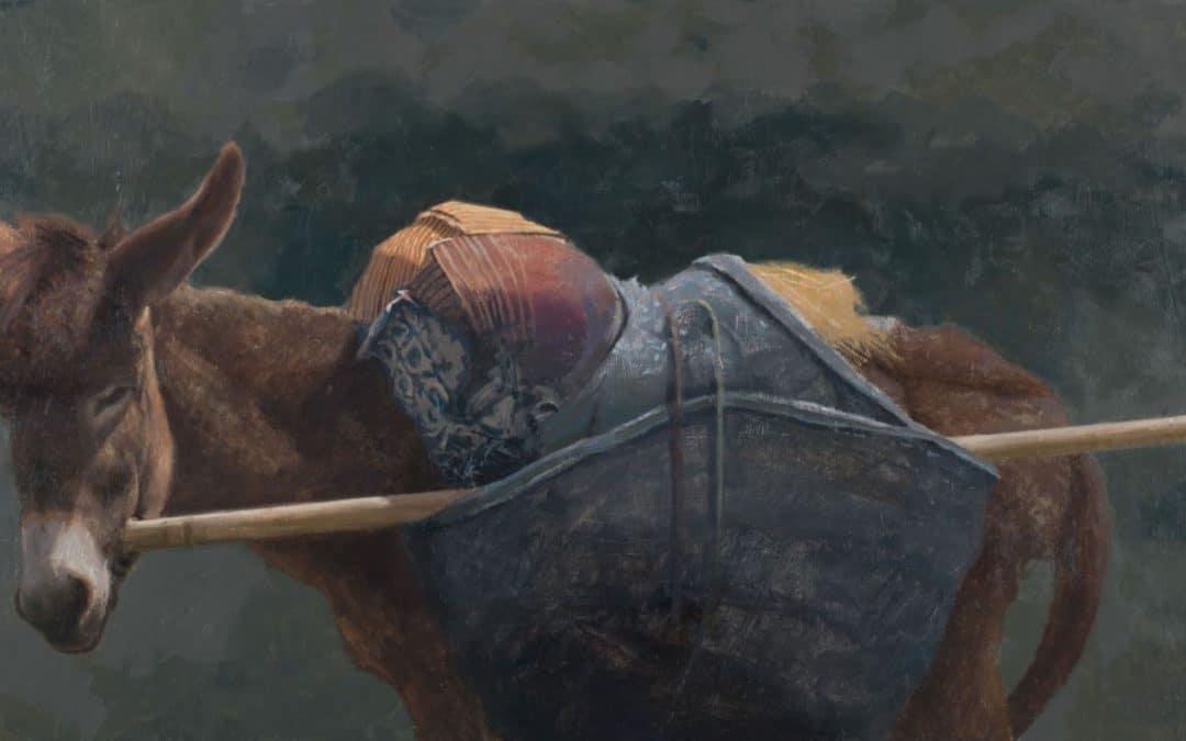 """Caballo de pobre-poor man's horse"" de Manuel Cano"