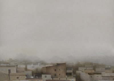Cae la niebla I-O-P-69x69cms.
