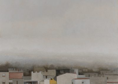 Cae la niebla II-O-P-69x69cms.
