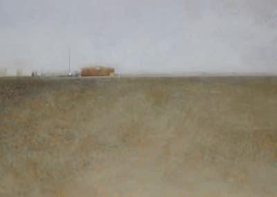 Niebla en la playa-O-P-47x70cms.
