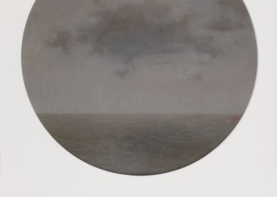 Nubes en alta mar III-O-P-42cms.Diametro.