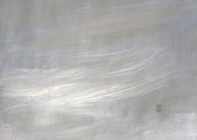 Cielo a la grisalla-31,5x22,5cm. Óleo Papel 2013