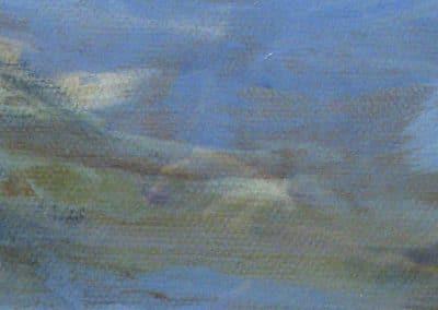 Homenaje al Turner de Venecia-10x50cm. Óleo Papel 2013