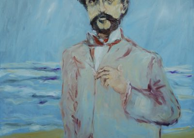 Claude Debussy,O-L,150x120cms.