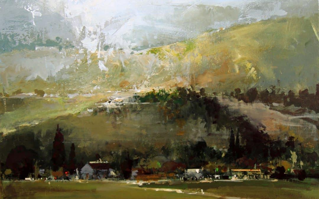 """La virtud del paisaje"" de Pérez Isamendi"